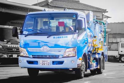 浄化槽リサイクル車